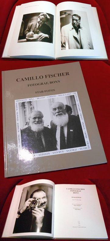 Herausgegeben von der Stadt Bonn, Redaktion Manfred Van Rey Camillo Fischer. Fotograf Bonn. Star-Fotos. Zum 75. Geburtstag. Mit einer Würdigung von Klaus Honnef.