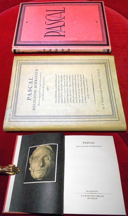 Pascal. Religiöse Schriften.