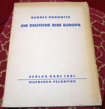 Die Deutsche Idee Europa