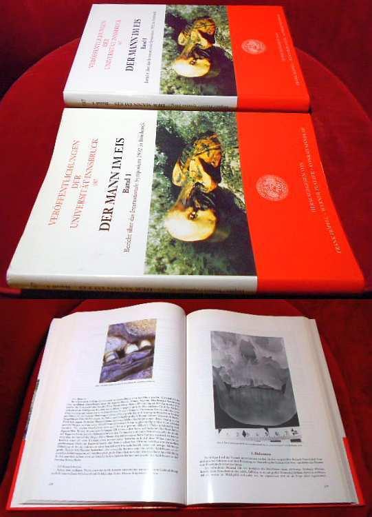 Der Mann im Eis. Band 1. Bericht über das internationale Symposium 1992 in Innsbruck