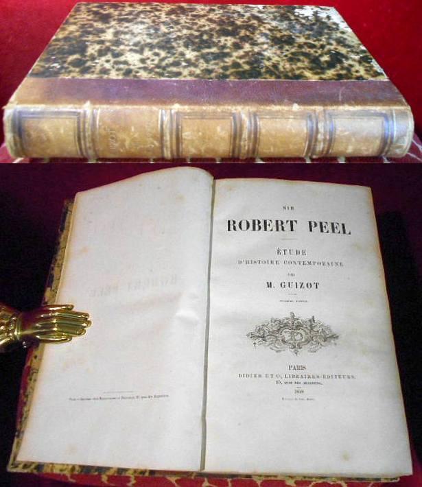 Sir Robert Peel - Etude d