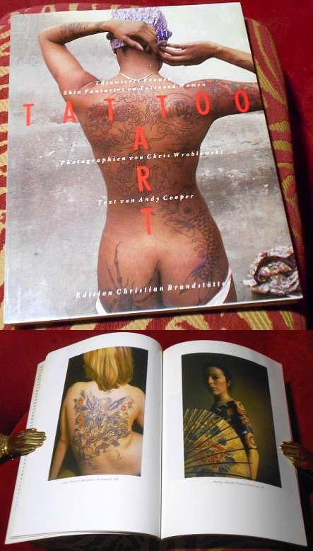 Tattoo art, tätowierte Frauen. Skin fantasies on tattooed women, Photographien von Chris Wroblewski.
