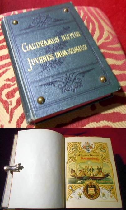 Allgemeines Deutsches Kommersbuch. Ursprünglich herausgegeben unter musikalischer Redaktion von Friedrich Silcher und Friedrich Erk.