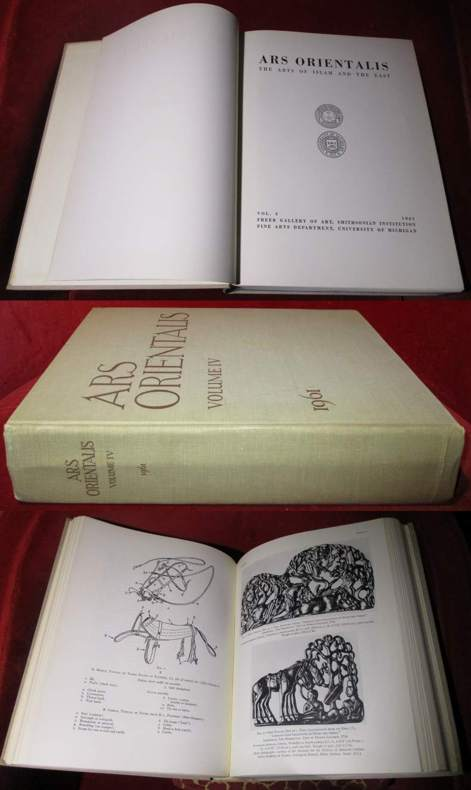 Ars orientalis. The arts of Islam and the East. Vol. 4.