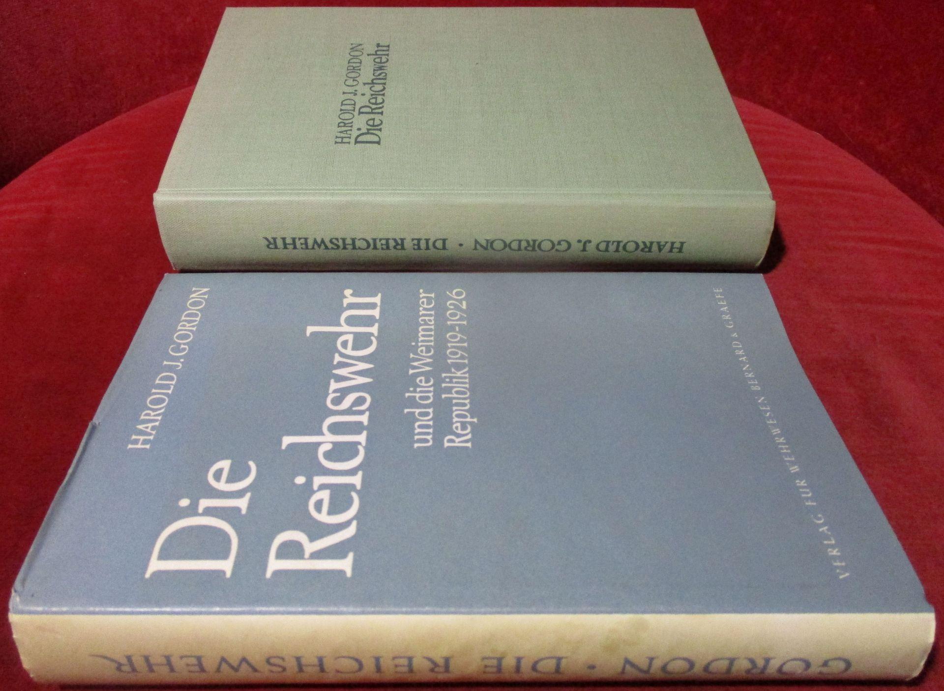 Harold Gordon. Deutsch von Siegfried Maruhn. Die Reichswehr und die Weimarer Republik 1919 - 1926