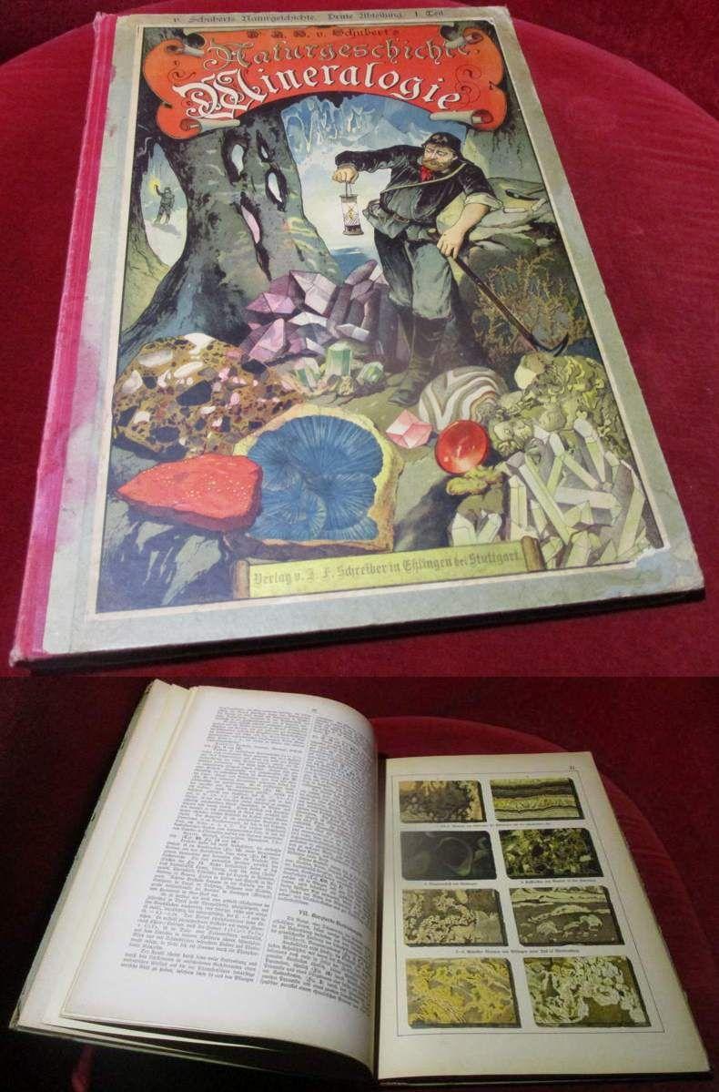 Illustrierte Mineralogie. 24 Tafeln mit 490 kolorierten Abbildungen nebst erläuterndem Text. Zum Anschauungs-Unterricht für die Jugend in Schulen und Familien.