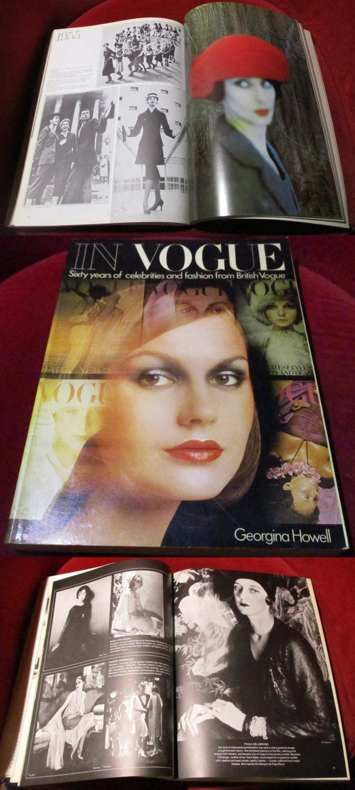 In Vogue. Sixty years of celebrities and fashion of British Vogue.
