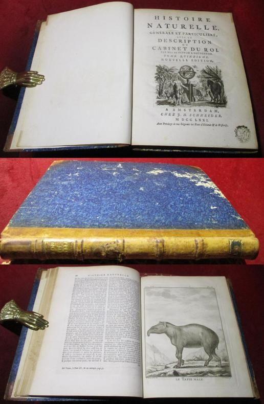 Histoire naturelle générale et particulière avec la description du cabinet du roi. Nouvelle édition.Tome quinzième.