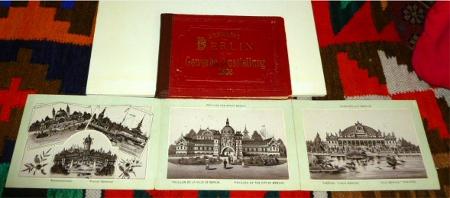 Ansichten von Berlin mit der Gewerbe-Ausstellung 1896.