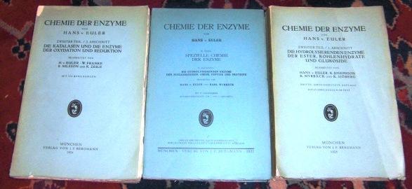 Chemie der Enzyme Zweiter (insges. 3) Teil in 3 Bänden komplett: Spezielle Chemie der Enzyme