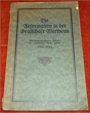 F. Kobe Die Reformation in der Grafschaft Wertheim