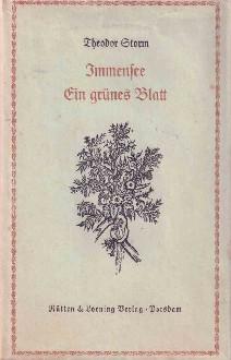 Immensee - Ein grünes Blatt.