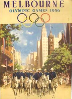 Melbourne - Olympic games 1956 1. Auflage