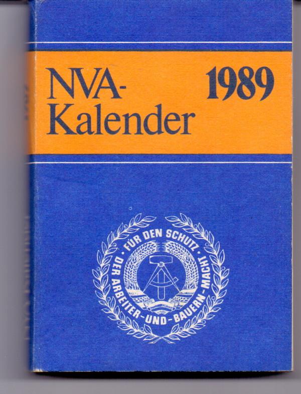 NVA-Kalender 1989 1. Auflage